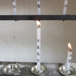 My Candle at the Shrine