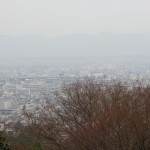 Kyoto from the Shrine