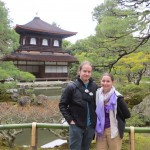 Rachel and Myself at Ginkaku-ji