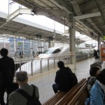 The Shinkansen Pulling In