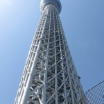 Skytree from the Foot