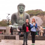Cori and Myself at the Great Buddha